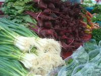 Beets & Green Onions