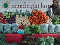 A Fall Market Stand